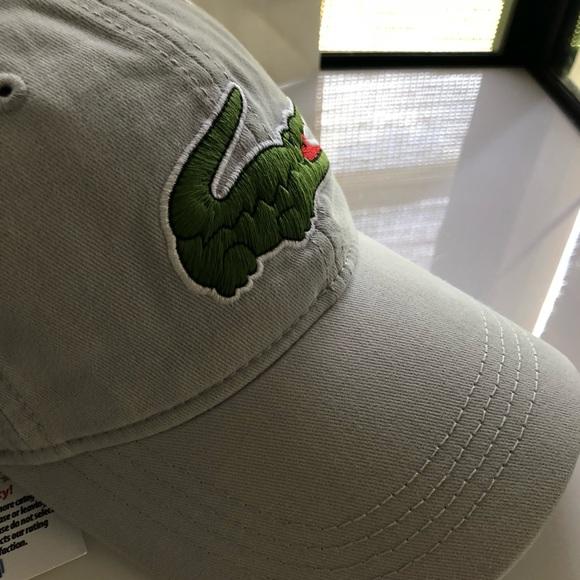 new lacoste big croc cap hat adjustable 30f24a88d706
